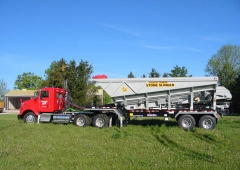 Custom Ultra Stone Slinger – Ultra 20 Trailer for tandem trailer chassis